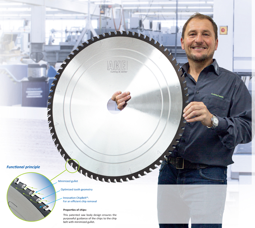 The 2.0 Generation Panel Sizing Saw Blades, Now up to 730 mm!